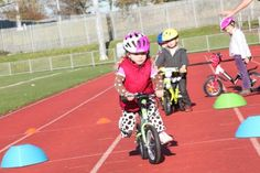 There are so many benefits both physical and mental to riding a bike. Start reaping the benefits early.