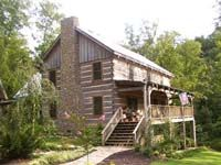 StoneMill Log & Timber Homes Picture Gallery - Campbell Project (modified Prestwick)