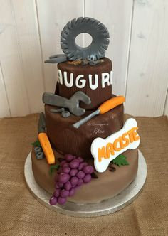 Cake design birthday man  Le Decorazioni di Glee