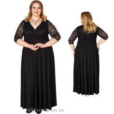 Платье Шарлин 001 черное Размеры 52-66 Цена 5600 руб Быстрая доставка, оплата при получении. Производство Россия, Санкт-Петербург