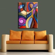 Cubist 116 3040 Original Cubist Art Whats On Your Mind - by Thomas C. Fedro from Contemporary Cubism Art Gallery Acrylic Painting Canvas, Abstract Canvas, Cubist Art, Buddha Painting, Modern Art Paintings, Circle Art, Art Drawings, Mozaic, Ideas