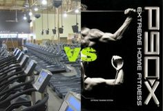 P90X vs The Gym...Who Wins? Which will get you better results???