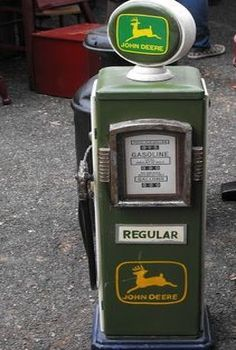John Deere Gas Pump