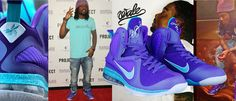 A Little Old-School Charlotte Swag: Nike LeBron Hornets