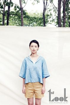 Jung Yu-mi // 1st Look Korea // July 2012 Bell Sleeve Top, Korean, Photoshoot, Asian, Celebrities, Blouse, Pretty, Inspiration, Affair