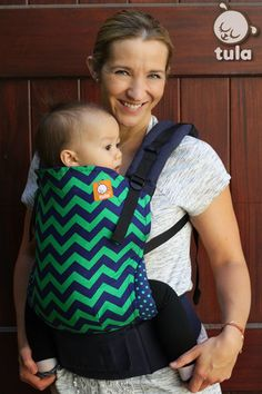 Ergonomic Baby Carrier  • Front and back carry  • From 7kg - 20kg • Can be used for newborns (3.5 kg +) if used with the Tula Infant Insert • Easy to use.  • No legs dangling! Designed to provide a wide seat and to support a natural M position of baby's leg and hips • Tula Carrier complies...