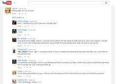 Lol, Youtube comments :P