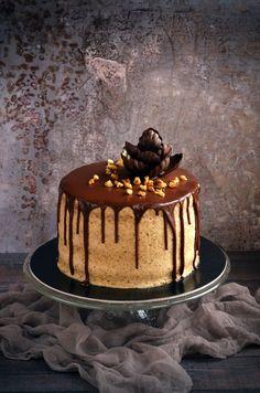 Fahéjas diótorta full extrásan :) | Sweet & Crazy Mousse Cake, Cake Designs, Bakery, Sweet, Recipes, Food, Mascarpone, Candy, Eten