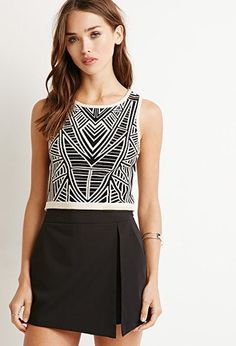 Crop Top Geo | Forever 21 Mexico