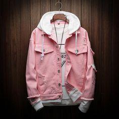 Denim Jacket Men, Denim Coat, Denim Jackets, Jackets For Men, Cool Jackets, Biker Jackets, Leather Jackets, Men Shorts, Motorcycle Jacket