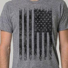 American Flag Tshirt Mens t shirt Funny by signaturetshirts