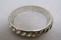 shopgoodwill.com: 950 Sterling Silver Made in Italy Bracelet