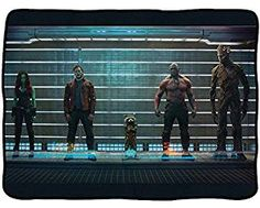 Amazon.com: Officially Licensed Marvel Guardians of the Galaxy Fleece Throw Blanket (Guardians of the Galaxy Lineup): Home & Kitchen