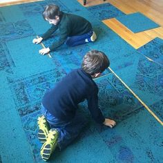 It's never too early to learn about modular flooring! (Via @scatterbrai1345)