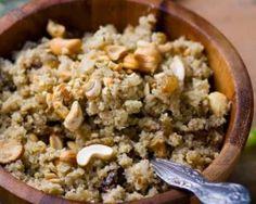 Couscous de chou-fleur au citron et fruits secs Croq'Kilos : http://www.fourchette-et-bikini.fr/recettes/recettes-minceur/couscous-de-chou-fleur-au-citron-et-fruits-secs-croqkilos.html