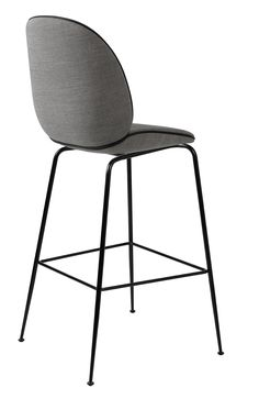 Beetle Stool fully upholstered with Remi