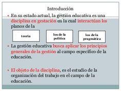 12 Ideas De Gestión De La Educación Gestion Educacion Modelos De Gestion Educativa