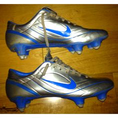 Nike mercurial vapor ii r9 chrome/photo blue sg