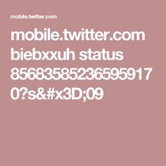 mobile.twitter.com biebxxuh status 856835852365959170?s=09
