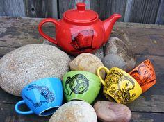mad hatter tea set