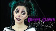 Αποκριάτικο Μακιγιάζ: CREEPY CLOWN