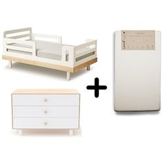 Oeuf Perch Toddler Bed Birch White