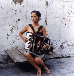 Julieta Venegas. A Mexican singer, songwriter, instrumentalist and producer, who sings pop-rock in Spanish