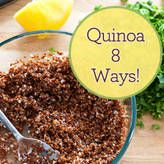Bethany Frankel's quinoa recipes for vegetarians, vegans, and omnivores alike!
