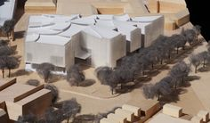 Steven Holl Architects Break Ground on Houston Museum of Fine Arts Extension,Courtesy of Steven Holl Architects