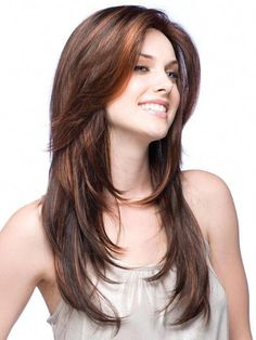 A coiffure hairdo, or haircut refers to the styling of hair, always on the human scalp. every bit this could also mean an enhancing of facial or body hair. Haircuts For Long Hair, Long Bob Hairstyles, Long Hair Cuts, Feathered Hairstyles, Layered Haircuts, Blonde Hairstyles, Female Hairstyles, Hairstyle Short, Braided Hairstyle