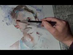 ▶ démonstration Victoria Prischedko Biennale Internationale d'aquarelle du Léon 2014 - YouTube