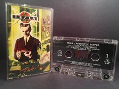 Tesla - psychotic supper - CASSETTE rock
