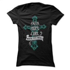 Faith Hope Cure Interstitial Cystitis T Shirts, Hoodies, Sweatshirts - #pullover #funny graphic tees. I WANT THIS => https://www.sunfrog.com/No-Category/Faith-Hope-Cure--Interstitial-Cystitis-Ladies.html?id=60505