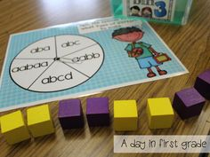 PERFECT Math centers for the beginning of first grade!