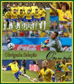 Brasil x Chile....Deu Brasil....Obrigada a todos os Brasileiros pela força...pela positividade...por acreditar nos nossos meninos de Ouro...e que venha a Colômbia...Olho na Moda