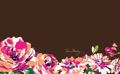 Vera Bradley English Rose Desktop Wallpaper
