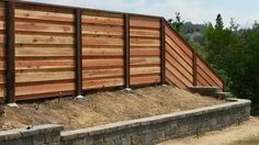 Wood Fences & Gates Modern Horizontal Styles and Designs