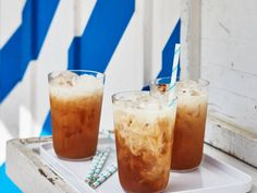 Cardamom Rosewater Iced Tea