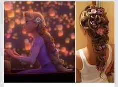 Disney's Tangled Inspired Wedding Hair Styles