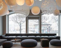 Boxplay Sofa and Ottoman - HighTower (Nobis Hotel, Stockholm)