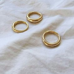 gold rings #accessories