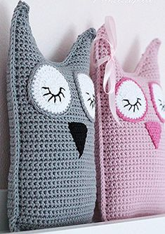 Crochet Home, Crochet Gifts, Crochet For Kids, Diy Crochet, Crochet Dolls, Crochet Cushion Cover, Crochet Cushions, Crochet Pillow, Owl Crochet Patterns