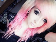 Ugh...why do I like pink hair so much! Love everything.
