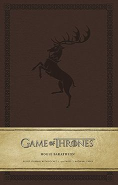 Game of Thrones: House Baratheon Hardcover Ruled Journal (Insights Journals)