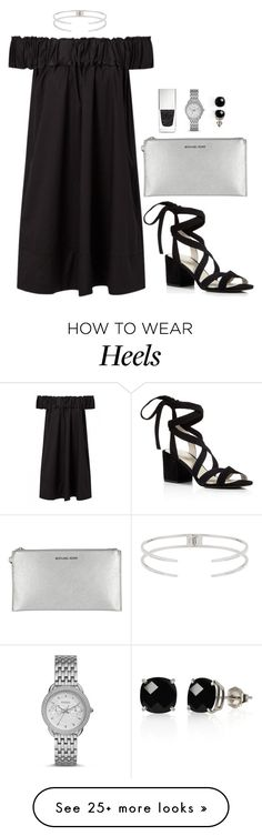 """""""Untitled #368"""" by hayleyl22 on Polyvore featuring Luv Aj, Kenneth Cole, Michael Kors, Givenchy, FOSSIL and Belk & Co."""