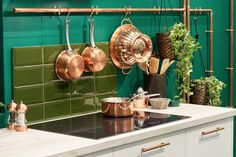 Find inspiration from on bringing the Natural kitchen trend to life Kitchen Design Trends 2018, Latest Kitchen Trends, Natural Kitchen, Copper Kitchen, Own Home, Home And Family, Design Ideas, Inspiration, Home Decor