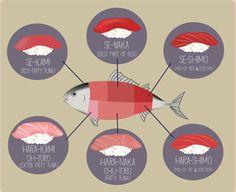 Tuna guide. I like Se-Naka and Oh-Toto.