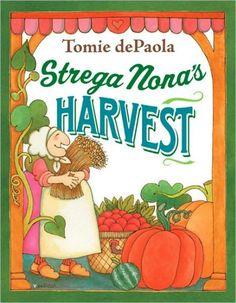 """'Strega Nona's Harvest'. (""""Strega Nona"""" means """"Grandmother Witch"""" in Italian.)"""