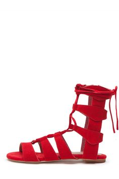18375b60c7c Jeffrey Campbell Shoes REDONDO Oh So Hottt! in Red Suede