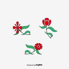 ناقلات الأحمر روز روز قلم وردة بسيطة زهرة Png وملف Psd للتحميل مجانا Art Rooster Rose